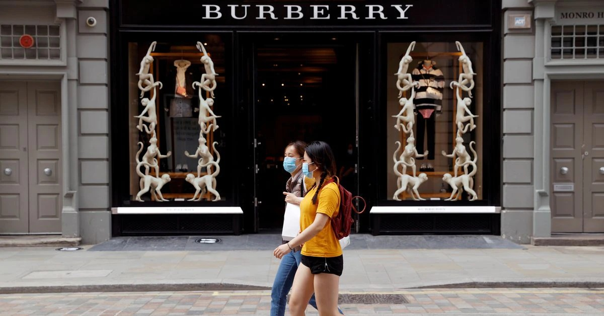 Younger shoppers drive Burberry sales rebound