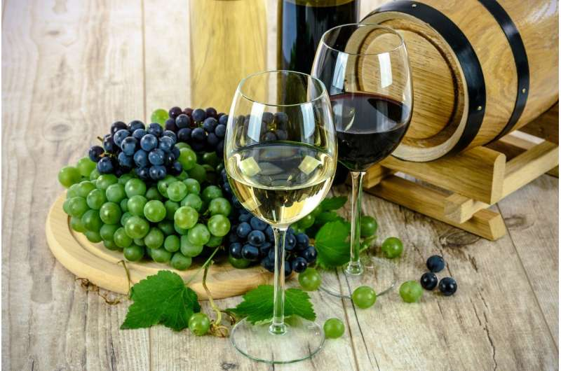 Wine is safer than beer for minimizing risk of heart condition