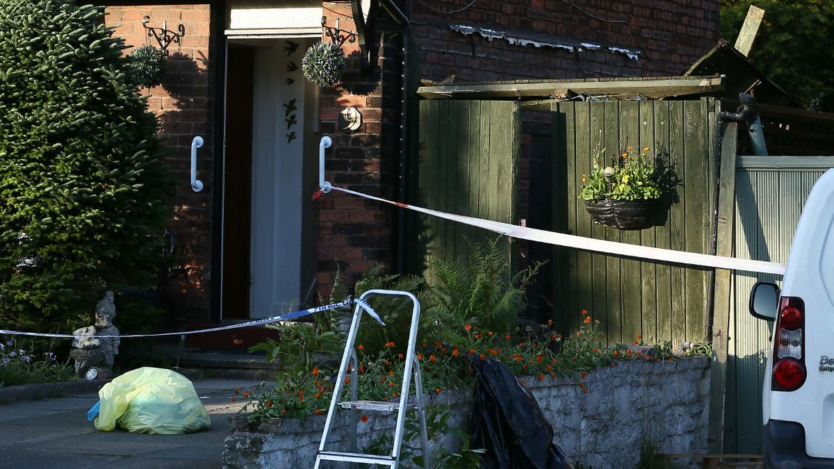 Grandmother crushed to death after house collapsed on top of her as she hung out washing